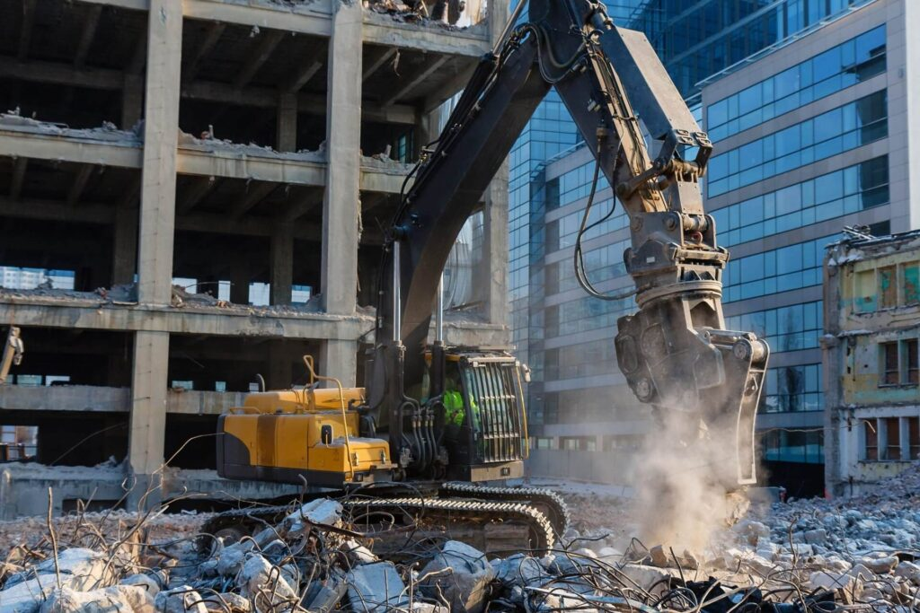 Commercial Demolition Dumpster Services-Fort Collins Elite Roll Offs & Dumpster Rental Services