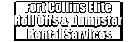 Fort Collins Elite Roll Offs & Dumpster Rental Services Logo